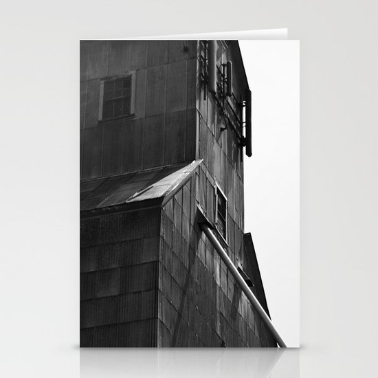 Grain Tower Stationery Card