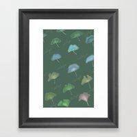 Ginkgo  Framed Art Print