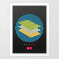 Law No.1: Field of Play Art Print