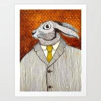 El Conejo Careta Art Print