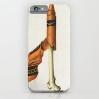 iPhone & iPod Case featuring To The Core: Orange by Carl Floyd Medley III