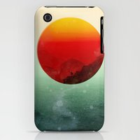 iPhone 3Gs & iPhone 3G Cases featuring In the end, the sun rises by Budi Kwan