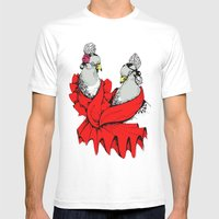Paloma Flores Mens Fitted Tee White SMALL