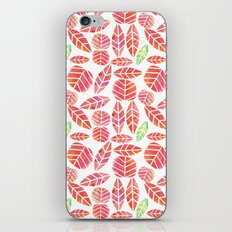 minimalist autumn iPhone & iPod Skin