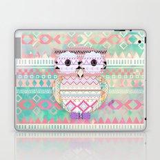 Hoot!  Whimsical Tribal Owl Pastel Girly Tie Dye Aztec Laptop & iPad Skin