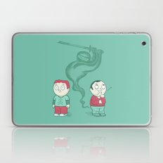 Silent and Deadly Laptop & iPad Skin