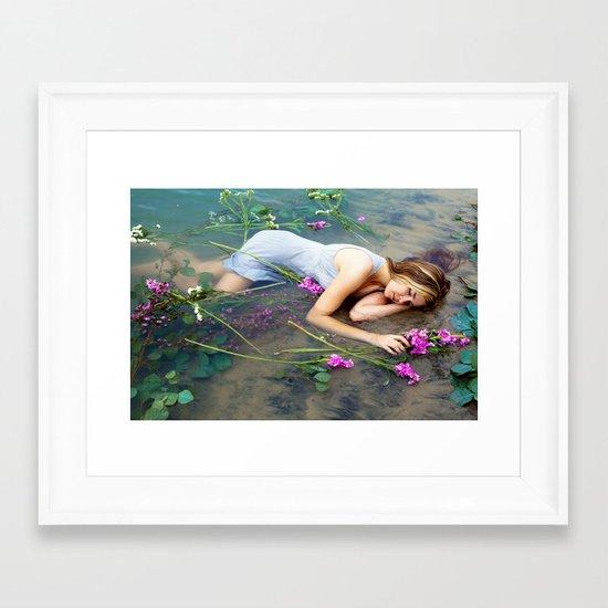 Ophelia 2 Framed Art Print