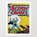Comic 35 Art Print