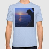 Goodnight Kona Mens Fitted Tee Athletic Blue SMALL