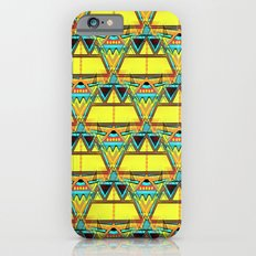 Aztec Tribal Seamless Design Slim Case iPhone 6s