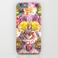 iPhone & iPod Case featuring Rose Bloom by PatternPeople
