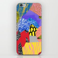 Colors & Shapes iPhone & iPod Skin