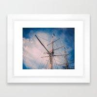 Set Sail II Framed Art Print