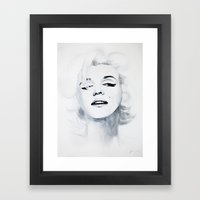 Marilyn '62 Framed Art Print