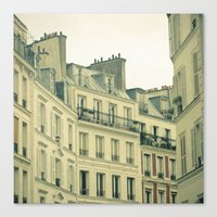 New Year in Paris Canvas Print