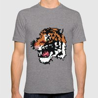 Low Resolution Mens Fitted Tee Tri-Grey SMALL