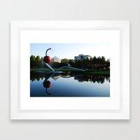 Minneapolis (cherry spoon) Framed Art Print