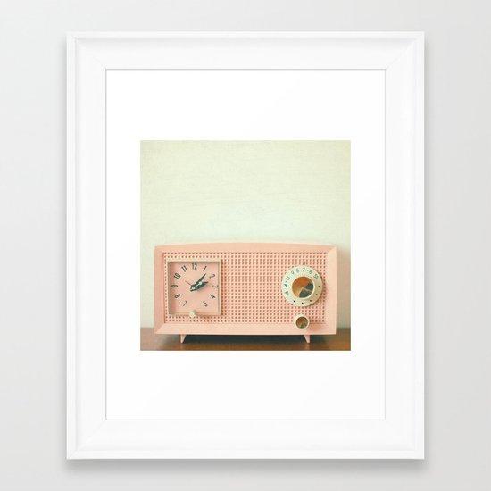 Easy Listening Framed Art Print
