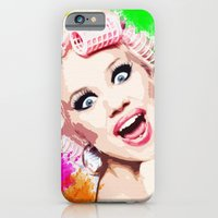 iPhone & iPod Case featuring CURLERS by Ylenia Pizzetti