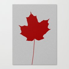 Leaf de jour Canvas Print