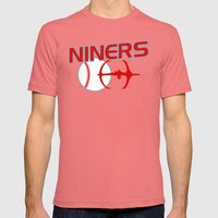 Niners Mens Fitted Tee Pomegranate SMALL