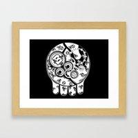 Time Bomb Framed Art Print