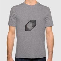 silt curve Mens Fitted Tee Athletic Grey SMALL