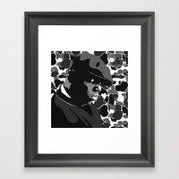 What's Beef? Framed Art Print