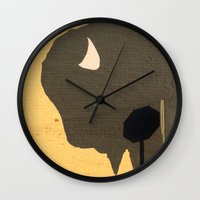 Stop Buffalo Wall Clock
