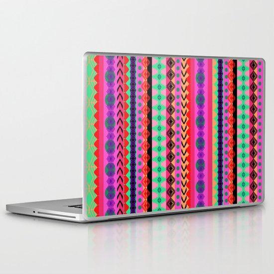 Tribal Stripe Laptop & iPad Skin