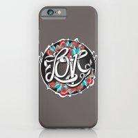 Love -Ribbon-Word iPhone 6 Slim Case