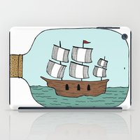 Ship In A Bottle iPad Case
