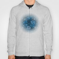 Romantic Blue Roses With… Hoody