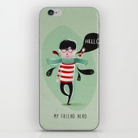 MY FRIEND NERD iPhone & iPod Skin