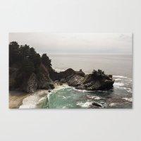 BIG SUR, CA WATERFALL AN… Canvas Print