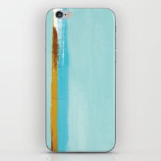 Teal Dream Abstract iPhone & iPod Skin