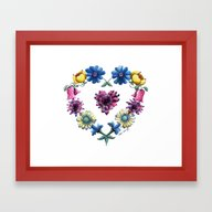 The Heart Of It Framed Art Print