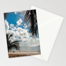 Couple at the beach Stationery Cards