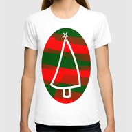 In Christmas Mood Womens Fitted Tee White SMALL