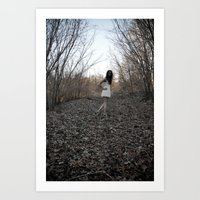 Forgive Us Our Trespasse… Art Print