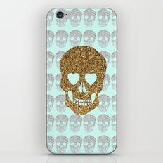 skulls & heartz;; iPhone & iPod Skin