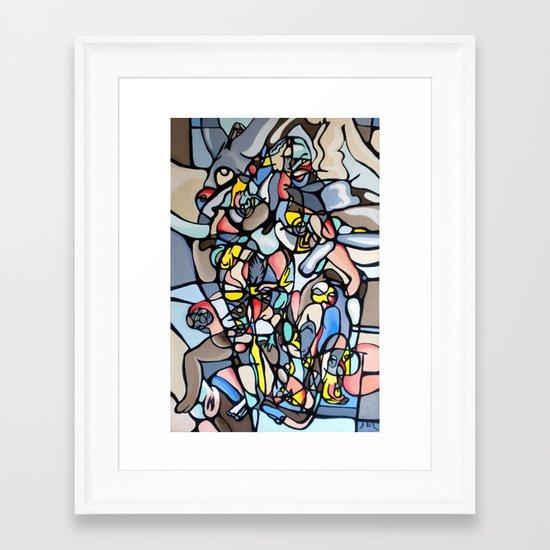 """Modern Day Venus"" Framed Art Print"