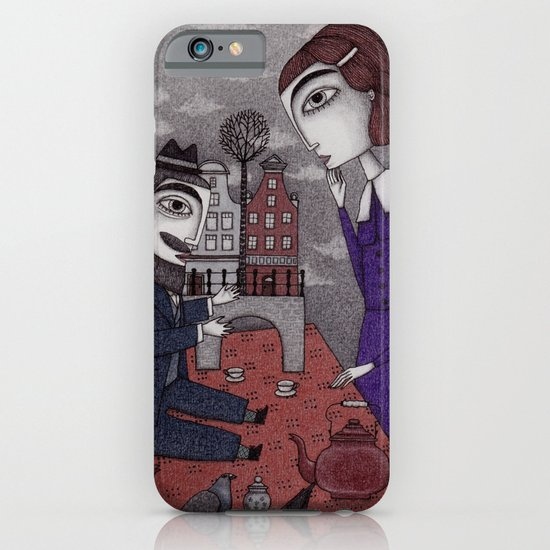 The Story Teller iPhone & iPod Case