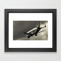 Beluga Super-Transporter Framed Art Print