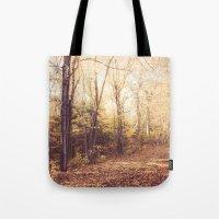 New England Autumn Tote Bag
