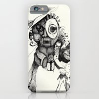 The Mad Hatter B&W iPhone 6 Slim Case