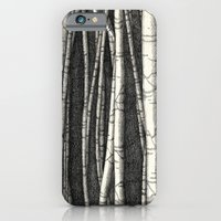 Birch trees iPhone 6 Slim Case