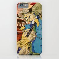 iPhone & iPod Case featuring Distarcted Busker by JustinPotts