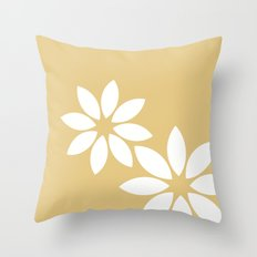 Flora2 Throw Pillow