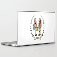 moonrise kingdom Laptop & iPad Skins featuring Moonrise Kingdom  by Dueling Doodlers